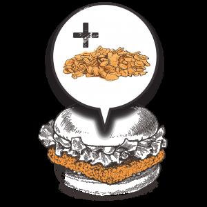 Grubers Luxembourg | Riccardo Giraudi | Burgers | Cheesegrubers Chicken Pop-corn