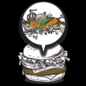 Grubers Luxembourg | Riccardo Giraudi | Burgers | Cheesegrubers Veggie